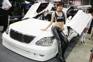 オートギャラリー東京2006会場の様子