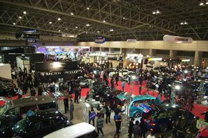 東京オートサロン2008会場の様子