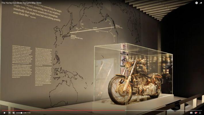 感動! 博物館にボロボロのハーレー・ダビッドソンが展示されている理由【動画】
