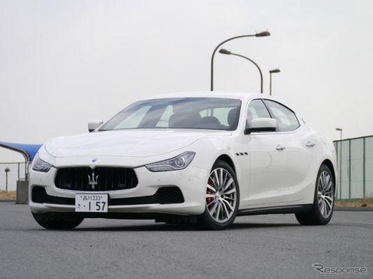 マセラティ ギブリ S Q4撮影 中村孝仁