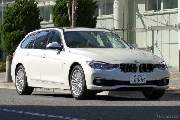 BMW 318i Touring Luxury《撮影 島崎七生人》