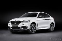 BMW X6 新型に、Mパフォーマンスパーツ…3.0直6ターボは326hpへ強化(レスポンス)の画像