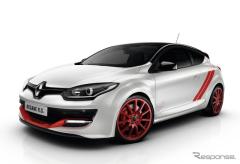 ルノー メガーヌRS 限定車、ニュル量販FF車最速「トロフィーR」など3モデル発売(レスポンス)の画像