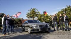 【CES15】アウディ A7 のロボットカー、約900kmをデモ走行…シリコンバレーからラスベガスへ(レスポンス)の画像