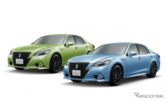 トヨタ クラウン 60周年特別仕様…あの空色・若草色モデルを期間限定販売(レスポンス)の画像