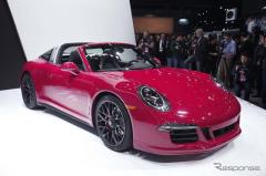 【デトロイトモーターショー15】ポルシェ 911 タルガ4 に高性能な「GTS」 …430psにパワーアップ(レスポンス)の画像
