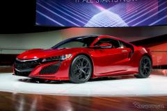 【デトロイトモーターショー15】ホンダ NSX 新型、パワースペック判明…最大出力は550hp以上(レスポンス)の画像