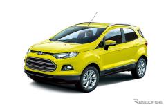 フォード エコスポーツ、イエローカラーの限定モデルを発売(レスポンス)の画像