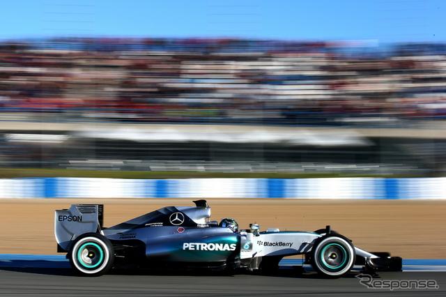 メルセデス『F1 W06 Hybrid』《画像 Getty Images》