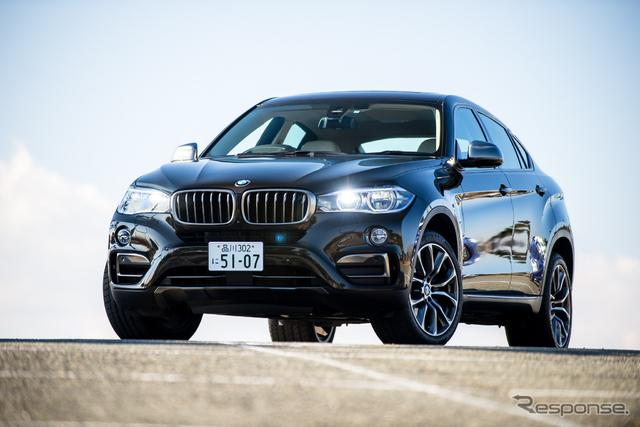 BMW X6 xDrive 50i《撮影 太宰吉崇》