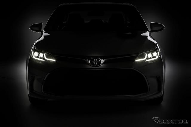 トヨタ アバロン の2016年モデルの予告イメージ