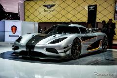 【ジュネーブモーターショー15】馬力は「メガ級」? ケーニグセグの新スーパーカー REGERA(レスポンス)の画像