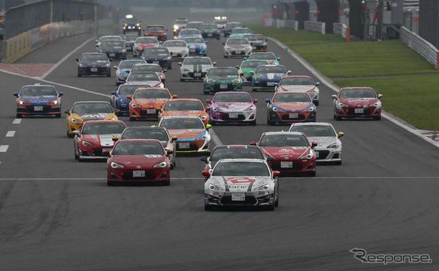 GAZOOレーシング 86/BRZ レース
