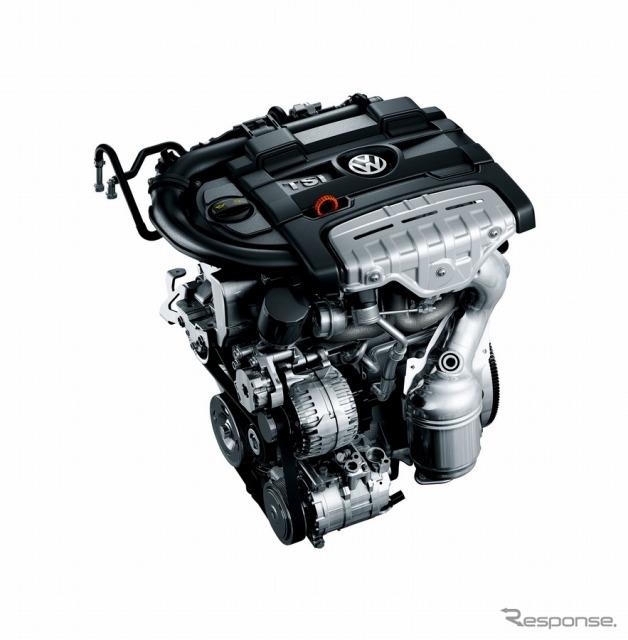 フォルクスワーゲンの TSI エンジン