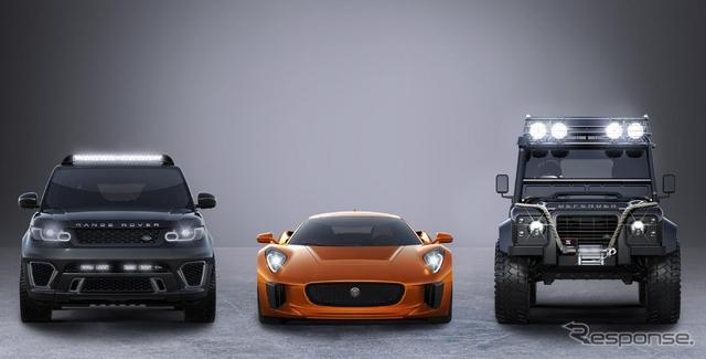 映画『007』 最新作 『スペクター』に起用されるジャガー・ランドローバー車