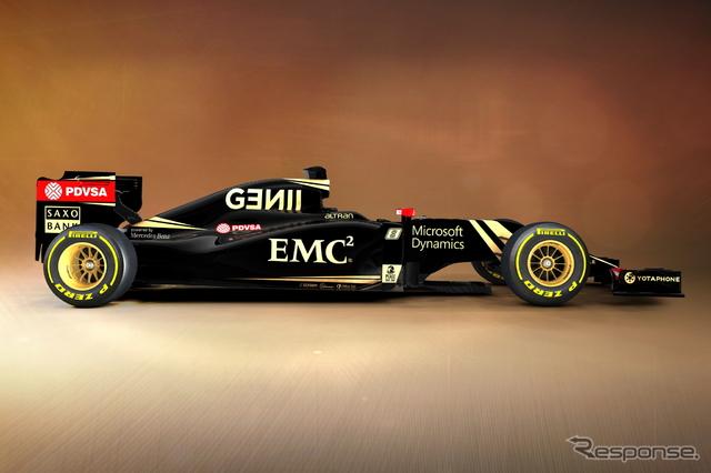 ロータス メルセデス E23 ハイブリッド《画像 Lotus F1 Team》