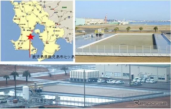 鹿児島県内にバイオ燃料用藻類の屋外大規模培養の試験設備を建設《出典 IHI》