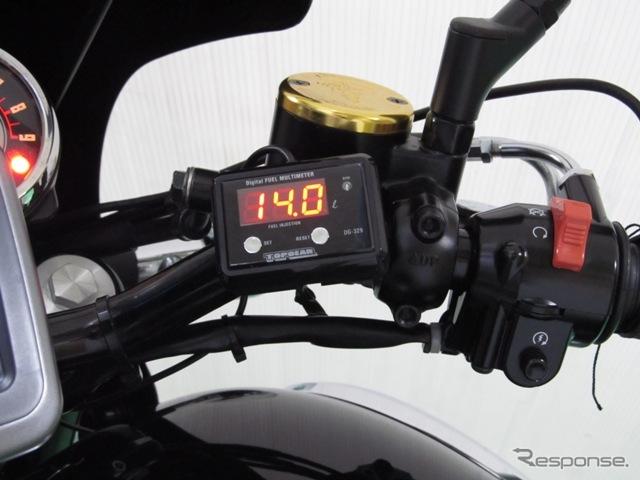 プロテック・W800専用デジタルフューエルマルチメーター