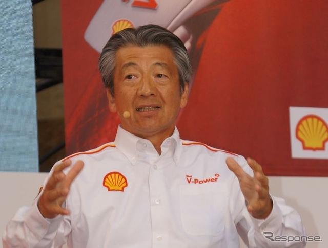 昭和シェル石油・石油事業COO亀岡剛氏(資料画像)《撮影 椿山和雄》