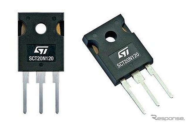 STマイクロ・SCT20N120