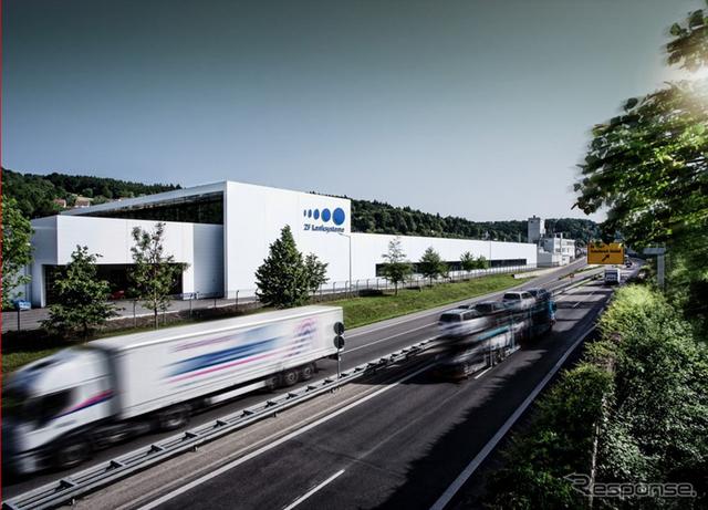 独シュヴェービッシュ・グミュントにあるZFLSの工場