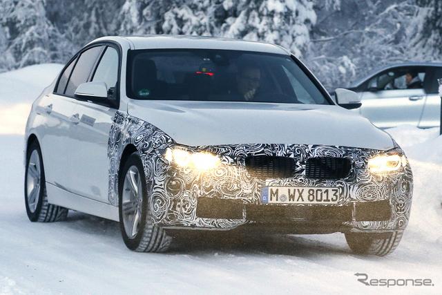 BMW  3シリーズ スクープ写真《APOLLO NEWS SERVICE》