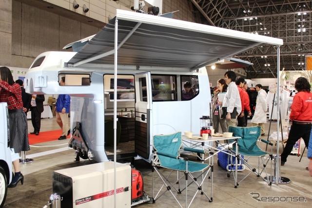 ホンダ N-TRUCK(キャンピングカーショー15)《撮影 内田俊一》
