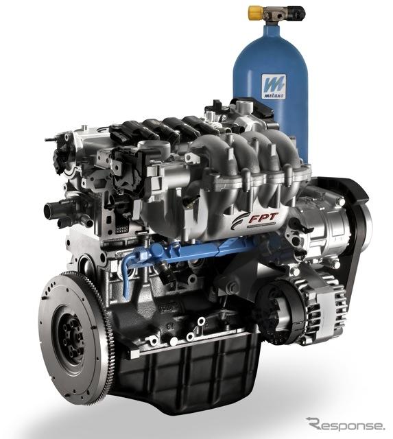 フィアットの1.4リットルCNG/ガソリン・バイフューエル「FIRE」エンジン(参考画像)