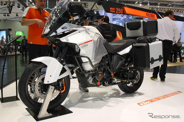 KTM・1290スーパーアドベンチャー(ドイツ・インターモト 2014)《撮影 和歌山利宏》