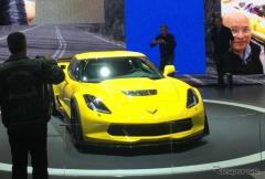【ジュネーブモーターショー15】シボレー コルベットZ06、欧州仕様を初公開…V8スーパーチャージャーは659hp(レスポンス)の画像
