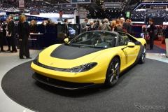【ジュネーブモーターショー15】ピニンファリーナ、フェラーリ「セルジオ」公開…限定6台の605hpスパイダー(レスポンス)の画像