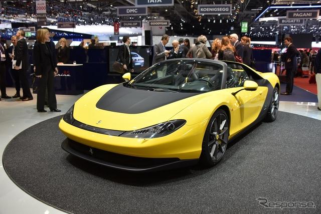 ピニンファリーのフェラーリ セルジオ(ジュネーブモーターショー15)