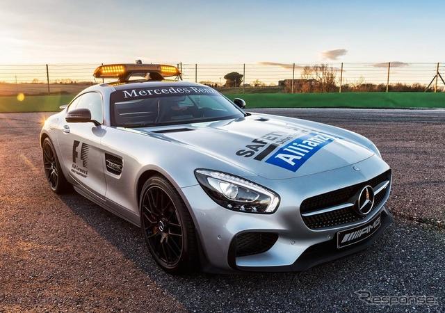 メルセデス-AMG GT のF1セーフティカー