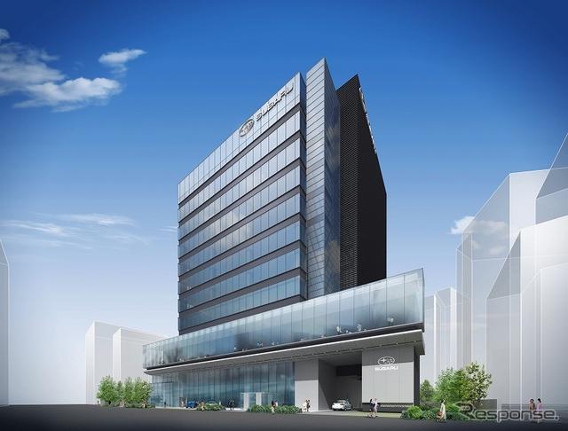 富士重工の新社屋エビススバルビル(参考画像)