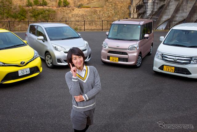 軽自動車&コンパクトカーのパッケージング、デザイン、スペース、使い勝手を検証《撮影 太宰吉崇》