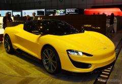 【ジュネーブモーターショー15】PHVの軽量スポーツカー提案…マグナ・インターナショナル(レスポンス)の画像