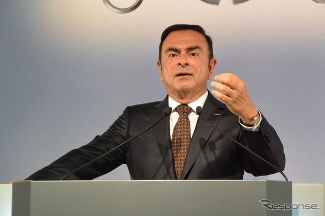 日産自動車 カルロス・ゴーン社長兼CEO(参考画像)《撮影 小松哲也》