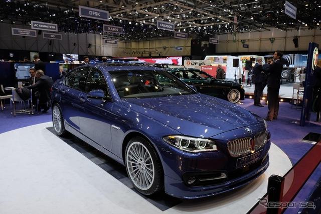 BMW アルピナ の エディション50(ジュネーブモーターショー15)
