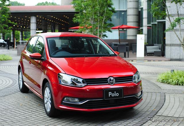 VW ポロ 新型(参考画像)