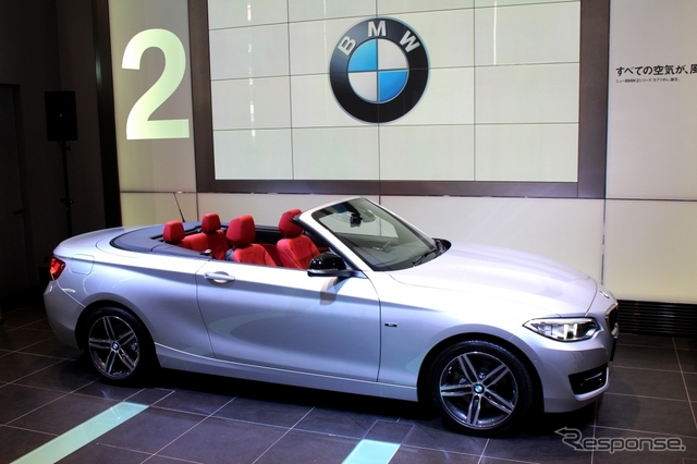 BMW 2シリーズ カブリオレ《撮影 内田俊一》