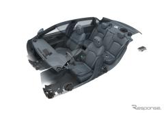 【ニューヨークモーターショー15】キャデラック CT6 に BOSE 製ハイエンドオーディオ…34スピーカー(レスポンス)の画像