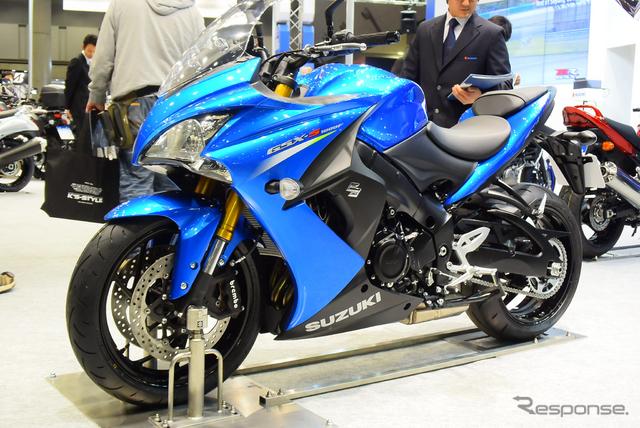 スズキ GSX-S1000F(東京モーターサイクルショー15)《撮影 阿部哲也》