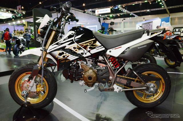 カワサキ KSR110(10周年記念モデル)《撮影 古庄速人》