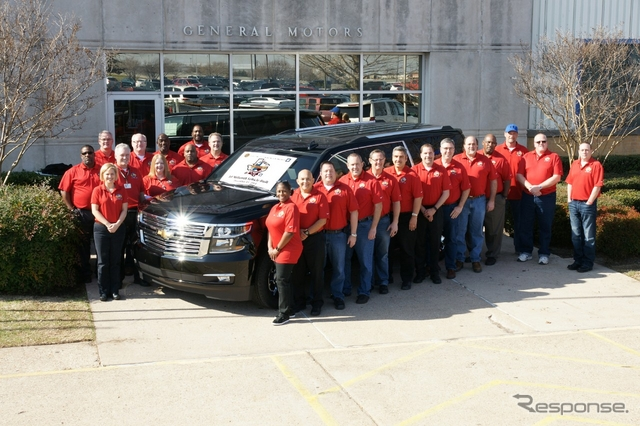 累計生産1000万台を達成したGMの米国テキサス州アーリントン工場