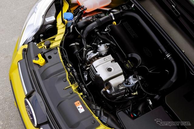 フォードモーターのエコブーストエンジン(写真は1.0)