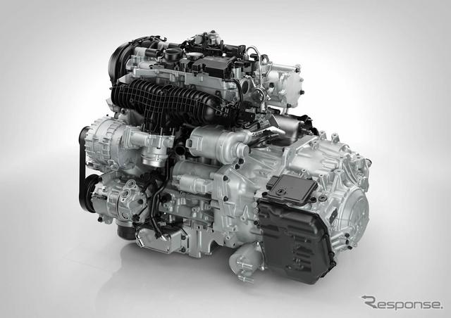 ボルボの新世代4気筒2.0ターボ「Drive-E」