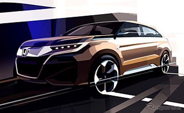 中国向け新型SUVコンセプトモデル(デザインスケッチ)