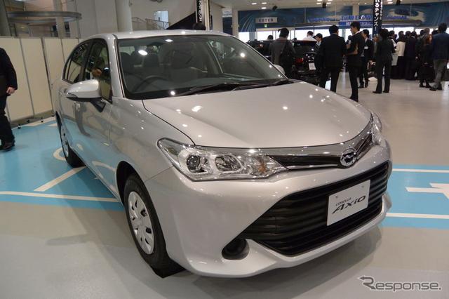 トヨタ自動車 カローラ 改良新型 発表会《撮影 小松哲也》