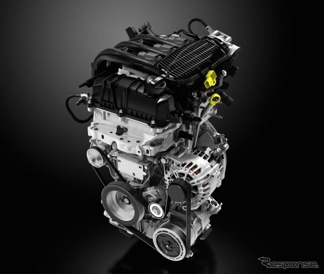 PSAプジョーシトロエンの1.2リットル3気筒エンジン(EB2型)