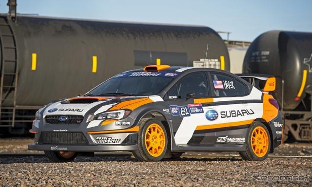 スバル WRX STIのラリークロスカー
